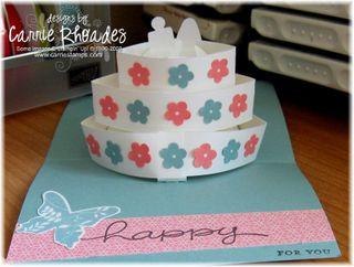 Good friend cake card 2