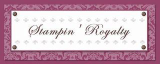 Stampin Royalty blog header