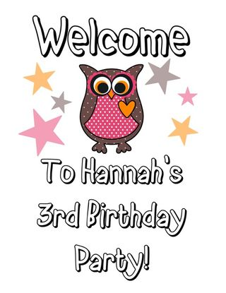 Owl Welcome Sign-001