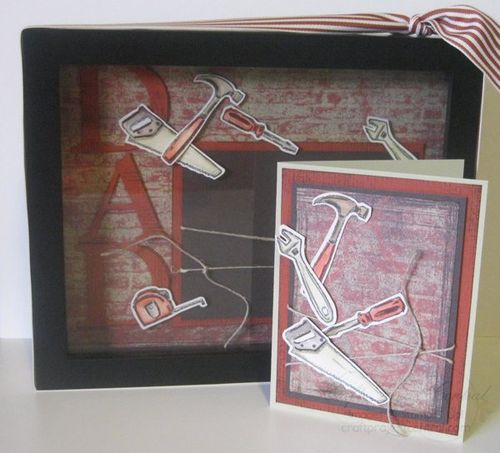 DAD Shadow Box & Card(1)