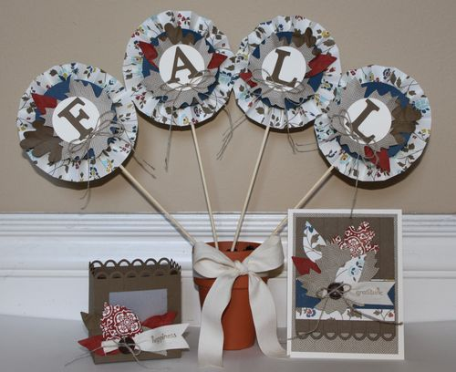 Fall Happiness Decor Gift Set