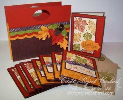 Fall Accordion File Folder Card Set(1)
