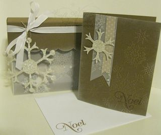 Snowflake Cards & Box(2)