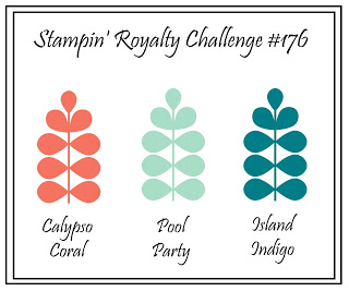Stampin royalty sample color