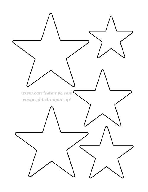 Cut out the star you want to use for your project (I used the star ...