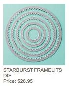 Starburst framelits