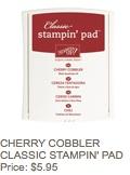 Cherry cobbler pad