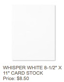 Whisper white cs