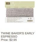 Espresso twine