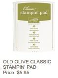 Olive pad