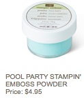 Pool party powder