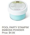 Pool party powder