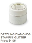 Diamonds glitter