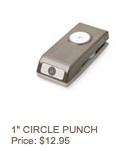 1%22 circle punch