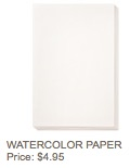 Watercolor paper