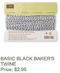 Black twine