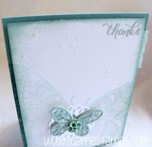Swallowtail glitter splattering 3