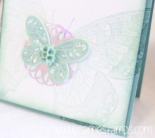 Swallowtail glitter splattering 2