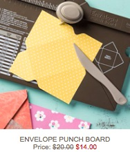 Envie punch board sale