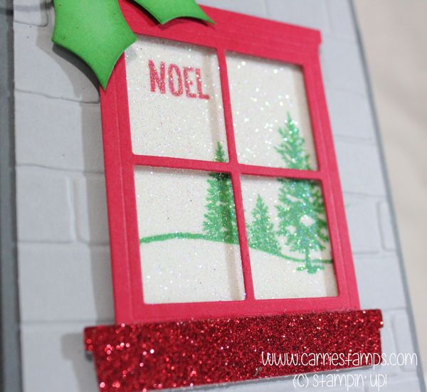 Christmas Color Challenge - Carrie Stamps
