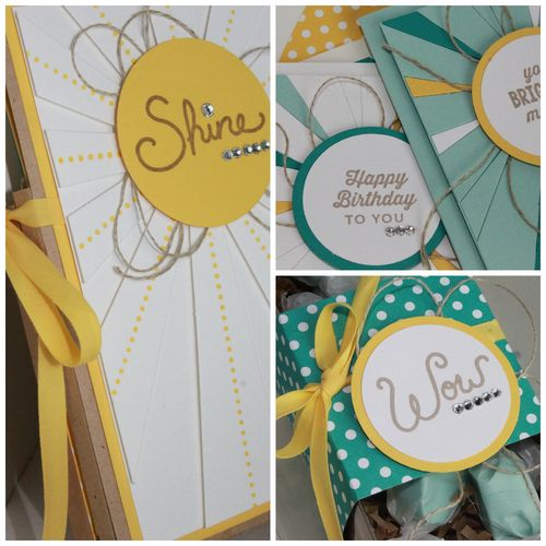 Sweet Sunburst Card Gift Set SP