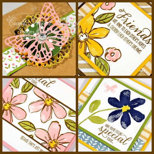 Butterfly Pizza Box Card Set SP