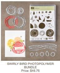 Swirly bird bundle