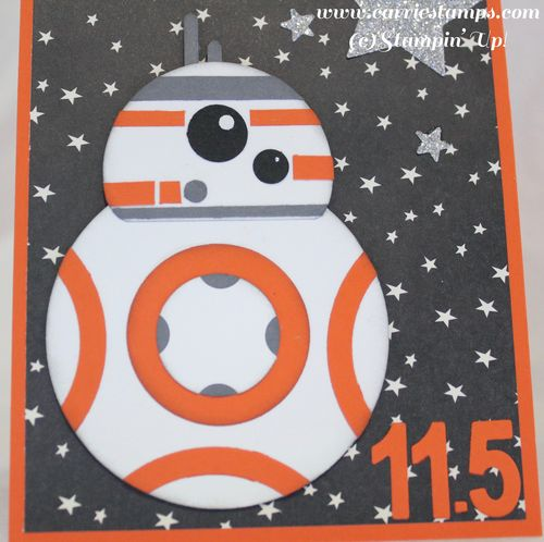 BB8 punch art card 2