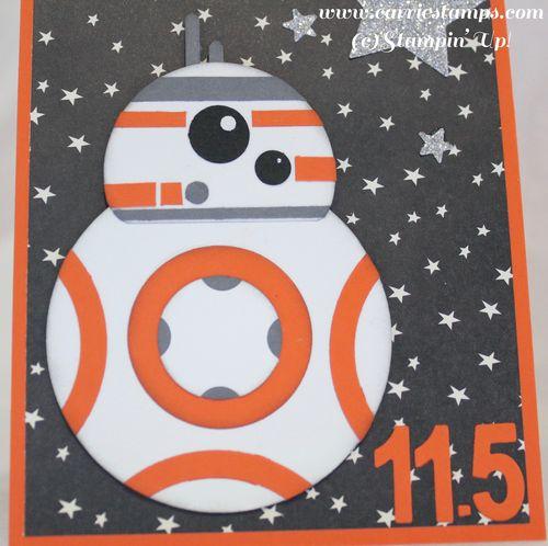 BB8 punch art card 2