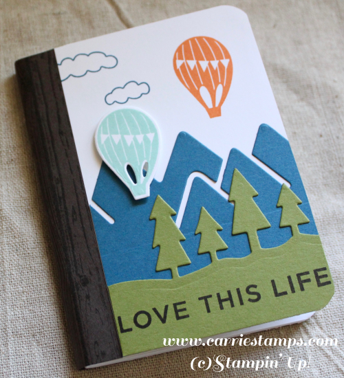 Always and Adventure note pad
