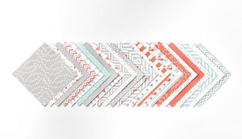 A little foxy designer paper