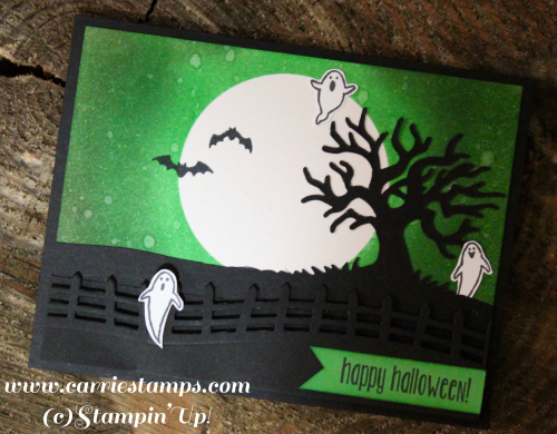 Spooky Fun Green Card