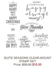Seasons clear mount