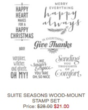 Seasons wood mount