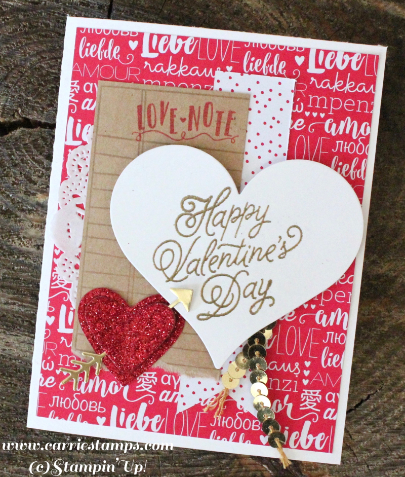 Sealed with love card 3