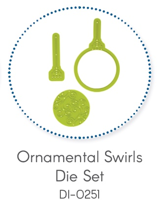 Ornamental Swirls Die Set