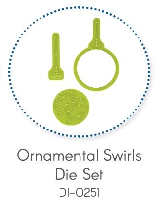 Ornamental Swirls Die Set