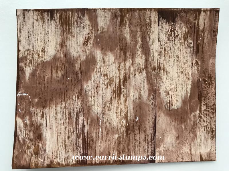 Gel Press Woodgrain 2