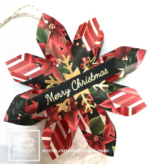 Woven Star Ornament 2017