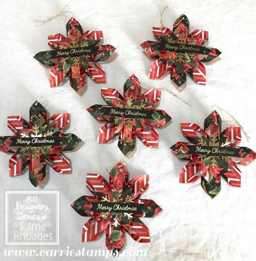Woven Stars Christmas Ornament