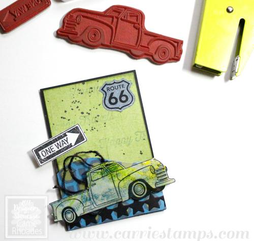 Truck Gum Holder