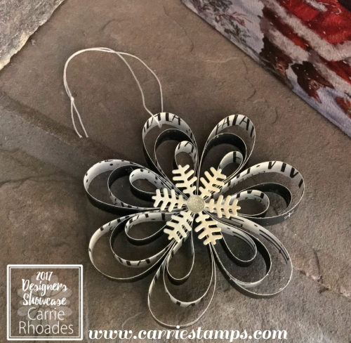 Christmas Flower Ornament 2