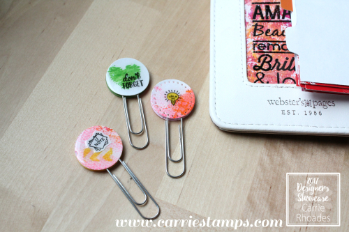 Gel Press Planner Clips