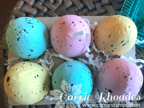 Silk Speckled Eggs CU