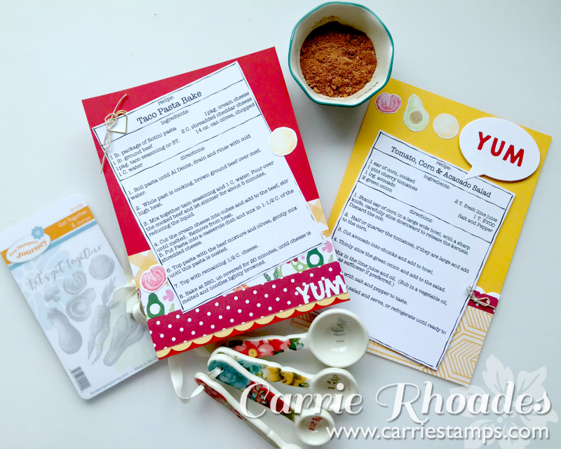 Recipe Pages 1