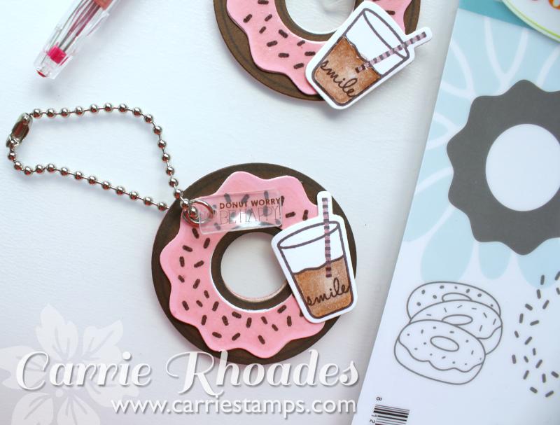 Donut Worry Keychain 2