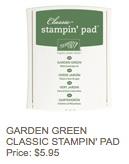 Garden green pad