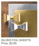 Silver foil paper