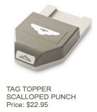 Scallop tag punch
