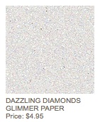 Diamonds glimmer paper